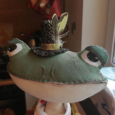 Феншуй ручной работы. Ярмарка Мастеров - ручная работа Трехлапая жаба. Handmade.