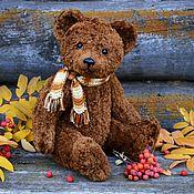 Куклы и игрушки handmade. Livemaster - original item Teddy Bears: MIKHEI the Soviet bear with a howler (pattern of 1950-70). Handmade.