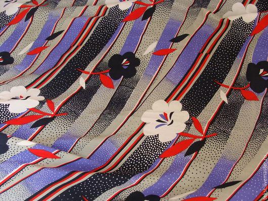 Шитье ручной работы. Ярмарка Мастеров - ручная работа. Купить Ткань крепдешин, винтаж, 295 х 92 см.. Handmade.