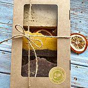 Косметика ручной работы handmade. Livemaster - original item Gift sets handmade soap. Kraft.. Handmade.