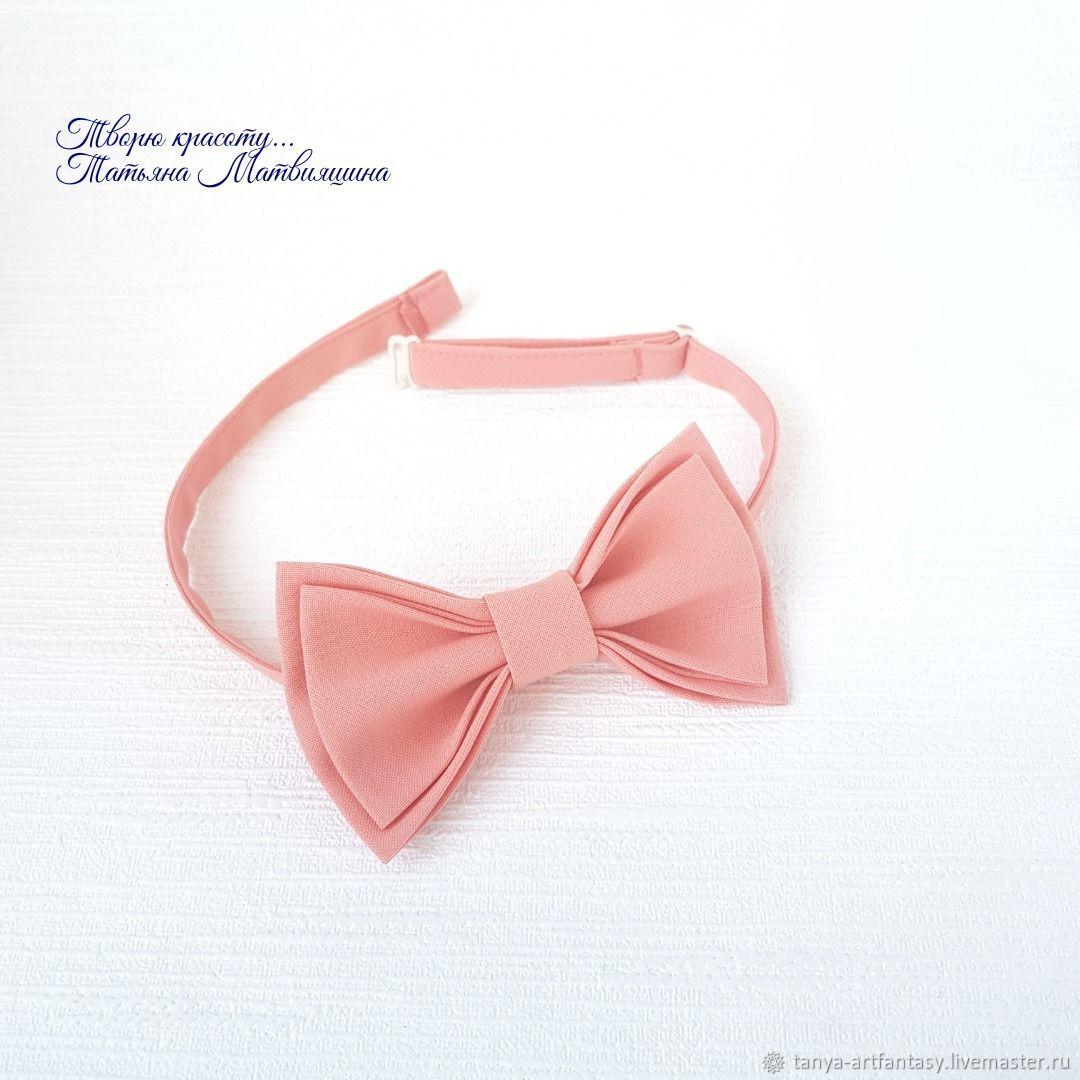Peach bow tie. The bow tie, Butterflies, Vladivostok,  Фото №1