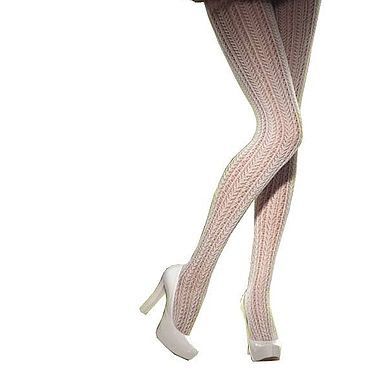 Vintage handmade. Livemaster - original item Charming fishnet tights with wool. More colors. Handmade.