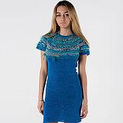 Одежда ручной работы. Ярмарка Мастеров - ручная работа Авторское платье ручной работы``Blue ocean``. Handmade.