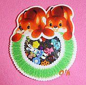 """Куклы и игрушки ручной работы. Ярмарка Мастеров - ручная работа Игры-искалочки """"Медвежата"""" и """"Бельчата"""" (из фетра). Handmade."""