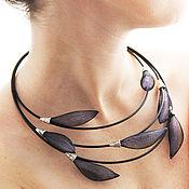 Украшения handmade. Livemaster - original item Necklace jewelry mesh