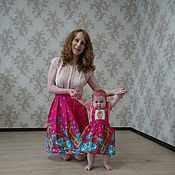 Одежда ручной работы. Ярмарка Мастеров - ручная работа Комплект в стиле Family look. Handmade.