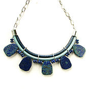 Украшения handmade. Livemaster - original item Necklace with lapis lazuli