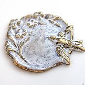 Материалы для творчества handmade. Livemaster - original item Accessories for jewelry: Vintaj pendant 2 colors. Handmade.