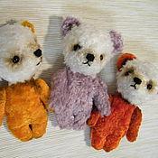 Куклы и игрушки ручной работы. Ярмарка Мастеров - ручная работа мишки малыши. Handmade.
