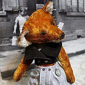 """Куклы и игрушки ручной работы. Ярмарка Мастеров - ручная работа """"Лис Матис"""". Handmade."""