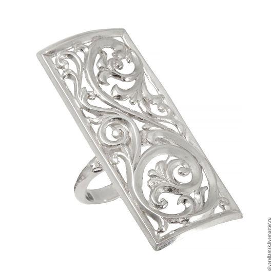"""Кольца ручной работы. Ярмарка Мастеров - ручная работа. Купить Серебряное кольцо """"Узоры-2"""" (серебро 925) USR003. Handmade."""