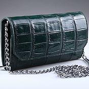 Сумки и аксессуары handmade. Livemaster - original item Women`s crocodile leather clutch IMA0706VG4. Handmade.