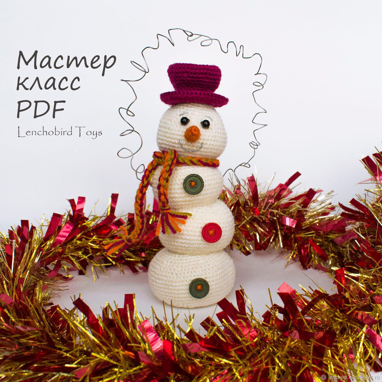 Snowman Amigurumi - Free Crochet Pattern - StringyDingDing | 1500x1500