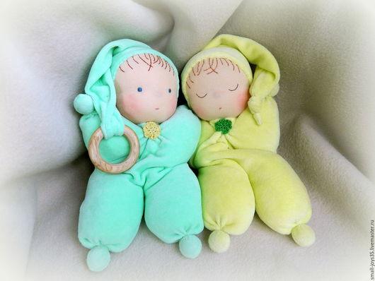 Вальдорфская игрушка ручной работы. Ярмарка Мастеров - ручная работа. Купить Игровая кукла по вальдорфским мотивам Лавандовый малыш. Handmade.