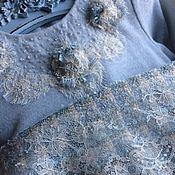 Работы для детей, ручной работы. Ярмарка Мастеров - ручная работа Платье Нежность акварели 1. Handmade.