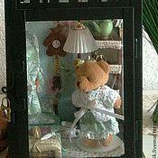 """Куклы и игрушки ручной работы. Ярмарка Мастеров - ручная работа Румбокс Тедди-фонарь """"Мятный зефир"""". Handmade."""