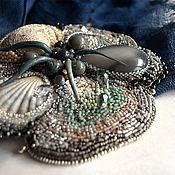 Украшения handmade. Livemaster - original item Brooch-necklace-beads