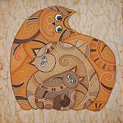 Картины и панно ручной работы. Ярмарка Мастеров - ручная работа Тройной муррррр....... Handmade.
