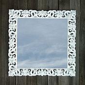 Для дома и интерьера ручной работы. Ярмарка Мастеров - ручная работа Зеркало в деревянной раме, стиль прованс. Z15a. Handmade.