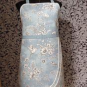 Для дома и интерьера handmade. Livemaster - original item Aprons:Apron with water-repellent impregnation-Birds on turquoise. Handmade.