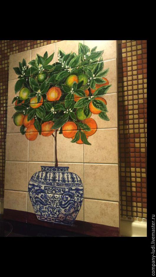 Кол-ция `китайская ваза` мандариновое дерево`