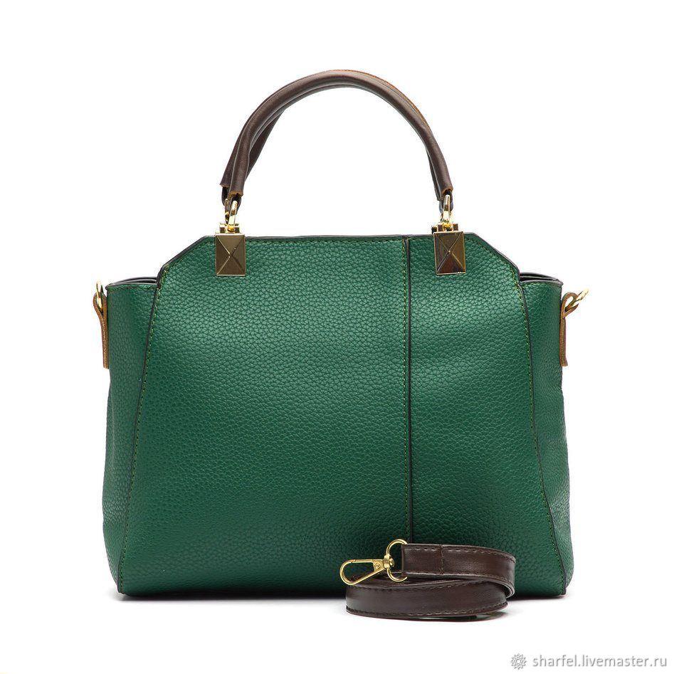 Handbags Handmade Livemaster Bag In Eco Leather B20 52 Green