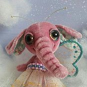 Куклы и игрушки ручной работы. Ярмарка Мастеров - ручная работа Слонобабочка. Handmade.
