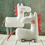 Материалы для творчества handmade. Livemaster - original item Unicorn toys: master class PDF. Handmade.