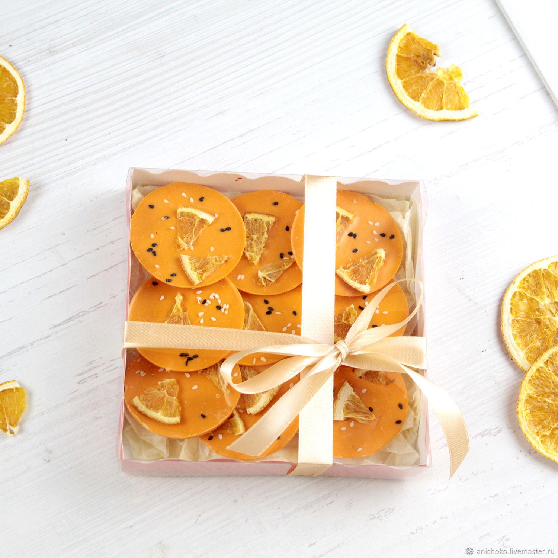 Шоколадные медианты из апельсинового шоколада, Кулинарные сувениры, Москва,  Фото №1