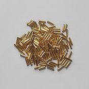 Материалы для творчества handmade. Livemaster - original item Japanese glass beads Miyuki 6 mm. Gold SL, 5 g. Handmade.