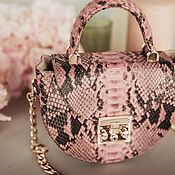 Сумки и аксессуары handmade. Livemaster - original item Python crossbody bag. Handmade.