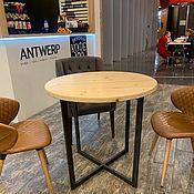 Столы ручной работы. Ярмарка Мастеров - ручная работа Столы: стол из массива сосны в стиле лофт. Handmade.
