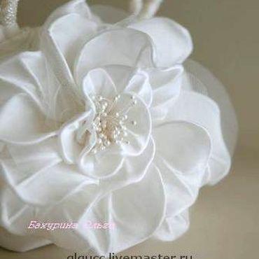 Свадебный салон ручной работы. Ярмарка Мастеров - ручная работа Роза Мелоди(цветы из шёлка). Handmade.