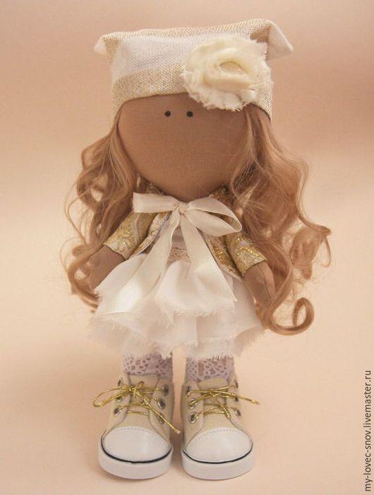 Коллекционные куклы ручной работы. Ярмарка Мастеров - ручная работа. Купить Мастер класс Кукла Люси. Handmade. Текстильная кукла