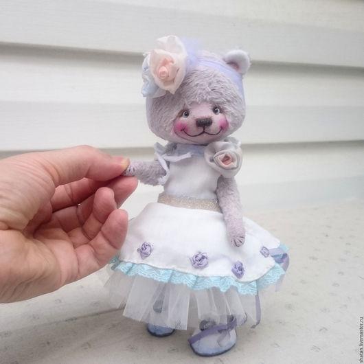 Мишки Тедди ручной работы. Ярмарка Мастеров - ручная работа. Купить мишка тедди Лаванда. Handmade. Мишка ручной работы