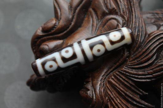 Для украшений ручной работы. Ярмарка Мастеров - ручная работа. Купить Тибетская бусина Дзи 12 глаз. Исполнение желаний.. Handmade.