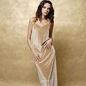 Одежда ручной работы. Ярмарка Мастеров - ручная работа Вечернее платье-комбинация из бархата. Handmade.