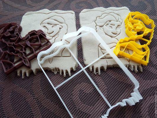 Кухня ручной работы. Ярмарка Мастеров - ручная работа. Купить Холодное сердце Анна и Эльза -  вырубка для печенья, пряников, мастики. Handmade.