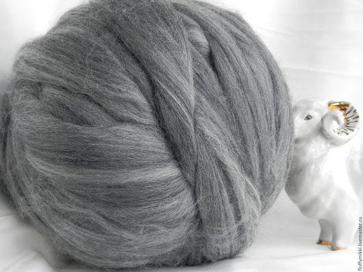 Австралийский топс меринос 18 мкм №218 светло-серый (меланж)