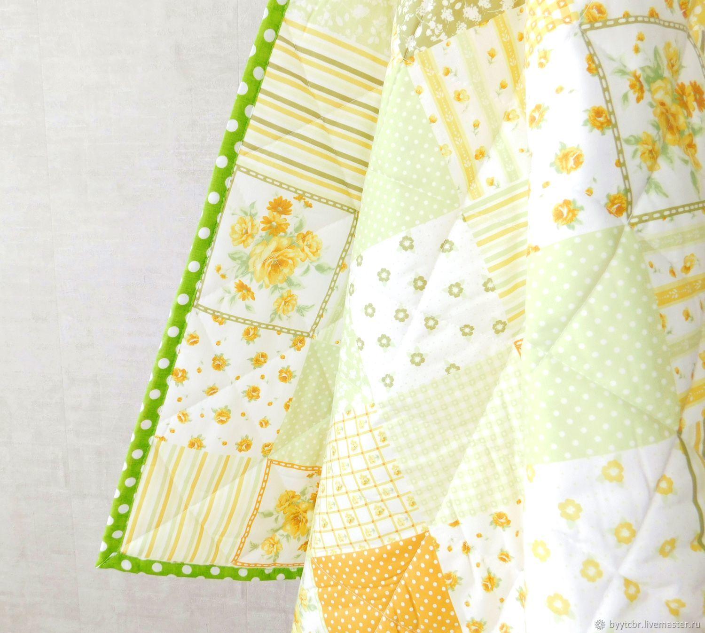 Подарок на рождение ребёнка ПЭЧВОРК детское одеяло, Пледы для детей, Москва,  Фото №1