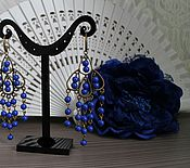 Украшения ручной работы. Ярмарка Мастеров - ручная работа Серьги для фламенко. Handmade.