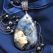 """Украшения ручной работы. Ярмарка Мастеров - ручная работа Кулон """"Небо в алмазах"""". Handmade."""