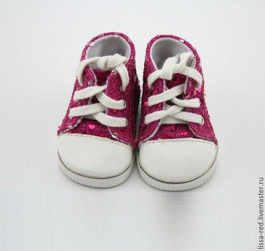 Куклы и игрушки ручной работы. Ярмарка Мастеров - ручная работа. Купить Обувь для кукол. Кеды длина 7см В НАЛИЧИИ. Handmade.
