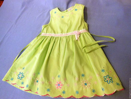 Одежда. Ярмарка Мастеров - ручная работа. Купить Платье детское винтаж. Handmade. Бохо стиль, винтажный стиль, праздничное платье