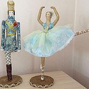 Куклы и пупсы ручной работы. Ярмарка Мастеров - ручная работа Оловянный солдатик и балерина. Handmade.