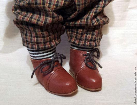 Обучающие материалы ручной работы. Ярмарка Мастеров - ручная работа. Купить Фото мастеркласс Обувь для куклы несъемная. Handmade.