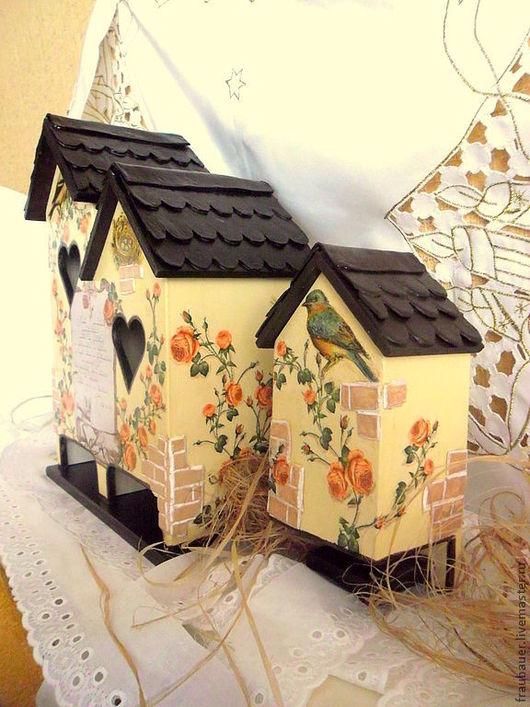 Кухня ручной работы. Ярмарка Мастеров - ручная работа. Купить Комплект домиков для кухни: чайный домик  и домик для спичек. Handmade.