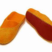 Обувь ручной работы handmade. Livemaster - original item Slippers Fox louboutins. Handmade.