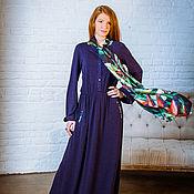 Одежда ручной работы. Ярмарка Мастеров - ручная работа Платье из ангоры с шелком. Handmade.