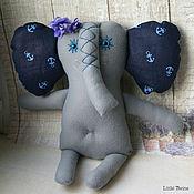 Куклы и игрушки ручной работы. Ярмарка Мастеров - ручная работа Слоник мальчик из флиса. Handmade.